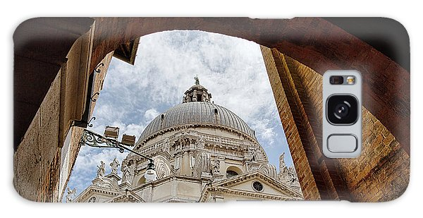 Galaxy Case featuring the photograph Basilica Di Santa Maria Della Salute Venice Italy by Nathan Bush