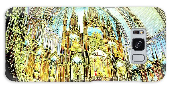 Galaxy Case - Basilica Of Notre Dame Montreal Quebec by A Gurmankin