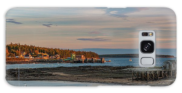Galaxy Case featuring the photograph Bass Harbor Sunset by Rick Hartigan