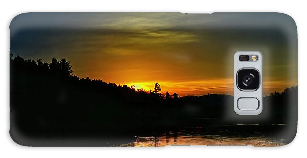 Bass Lake Sunrise Duck Galaxy Case