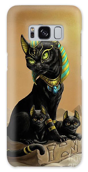 Bastet Egyptian God Galaxy Case