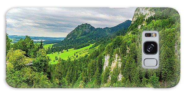 Bavarian Alps Panorama Galaxy Case