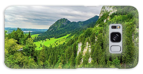 Bavarian Alps Panorama Galaxy Case