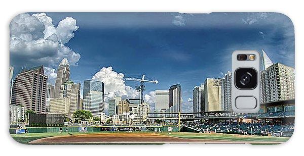 Bbt Baseball Charlotte Nc Knights Baseball Stadium And City Skyl Galaxy Case