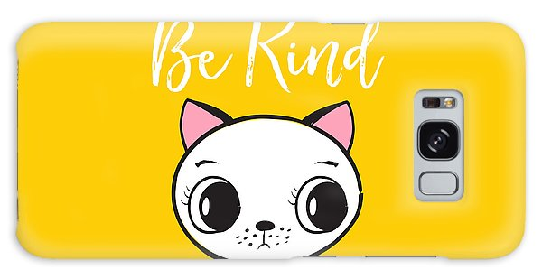 Be Kind - Baby Room Art Poster Print Galaxy Case