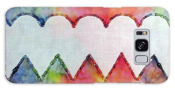 Be Still My Beaded Hearts Galaxy Case