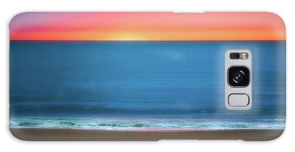 Atlantic Ocean Galaxy Case - Beach At Sunrise by Tom Mc Nemar