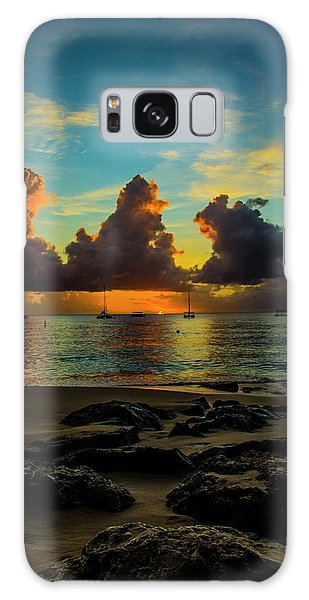 Beach At Sunset 2 Galaxy Case