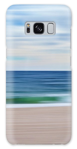 Beach Blur Galaxy Case