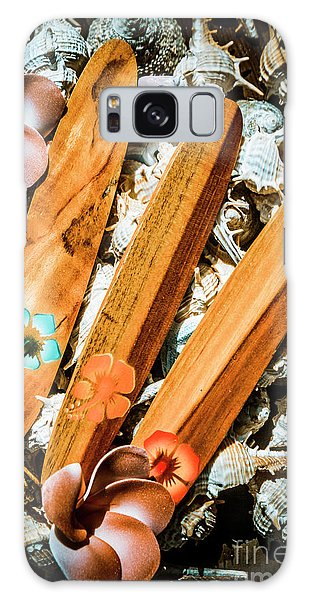 Hibiscus Galaxy Case - Beach Boards by Jorgo Photography - Wall Art Gallery