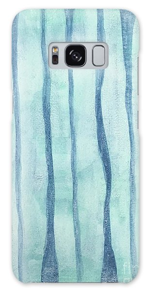 Beach Collection Beach Water Lines 2 Galaxy Case
