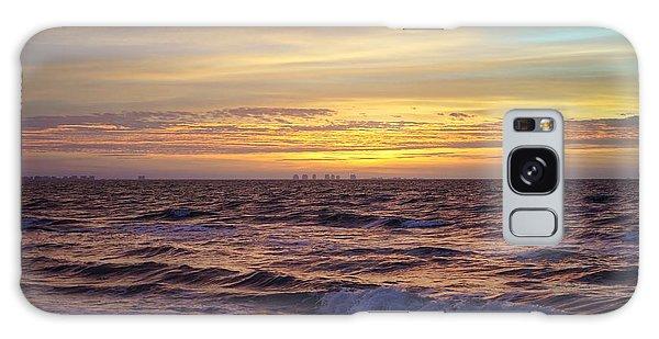 Beach Sunrise Galaxy Case