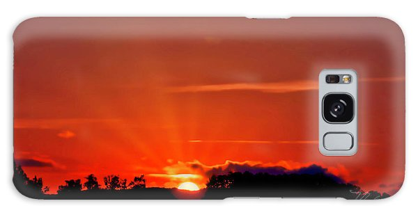 Beacon Heights Sunrise Galaxy Case