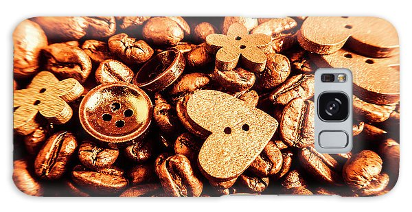 Cafe Galaxy Case - Beans And Buttons by Jorgo Photography - Wall Art Gallery