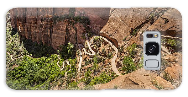 Southwest Usa Galaxy Case - Beautiful Aerial Views From Zion by Sopotnicki