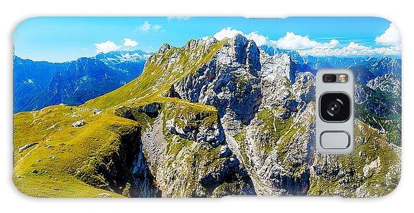 Scenery Galaxy Case - Beautiful Alps Landscape. Beautiful by Jozef Klopacka