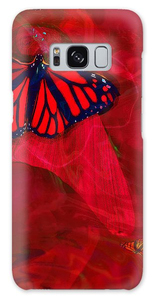Beautiful And Fragile In Red Galaxy Case