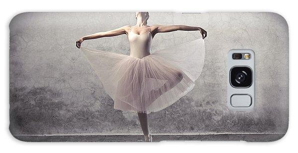 Active Galaxy Case - Beautiful Ballerina Dancing by Ollyy