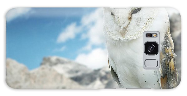 Race Galaxy Case - Beautiful Barn Owl In To The Wild Nature by Valentina Photos