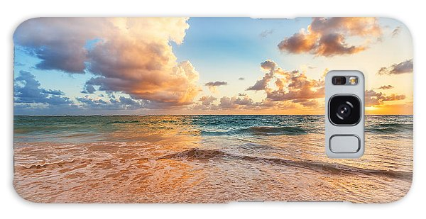 Cloudscape Galaxy Case - Beautiful Cloudscape Over Caribbean by Valentin Valkov