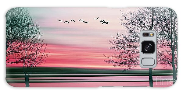 Glow Galaxy Case - Beautiful Colorful Natural Landscape by Eva Bidiuk