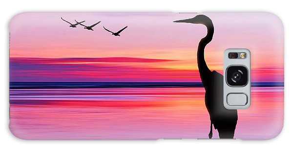 Glow Galaxy Case - Beautiful Landscape by Eva Bidiuk