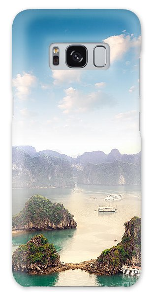 Cloudscape Galaxy Case - Beautiful Landscape Of Halong Bay In by Banana Republic Images