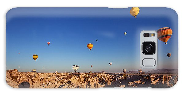 Song Bird Galaxy Case - Beautiful Landscape With Hot Air by Song about summer