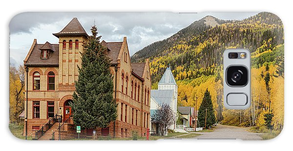 Galaxy Case featuring the photograph Beautiful Small Town Rico Colorado by James BO Insogna