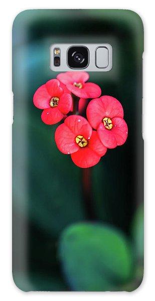 Beautiful Summer Flowers Galaxy Case