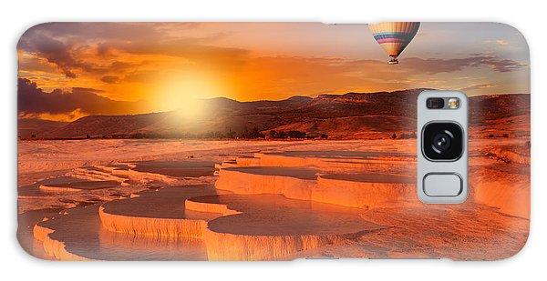 Bath Galaxy Case - Beautiful Sunrise And Natural by Muratart