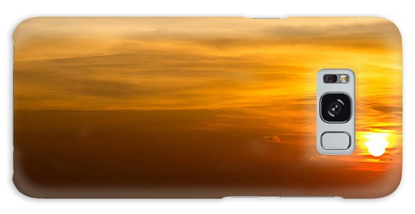 Scenery Galaxy Case - Beautiful Sunset At Andaman Sea Krabi by Vichie81