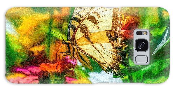 Beautiful Swallow Tail Butterfly Galaxy Case