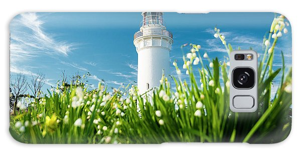 Galaxy Case featuring the photograph Beautiful Table Cape Lighthouse In Tasmania. by Rob D