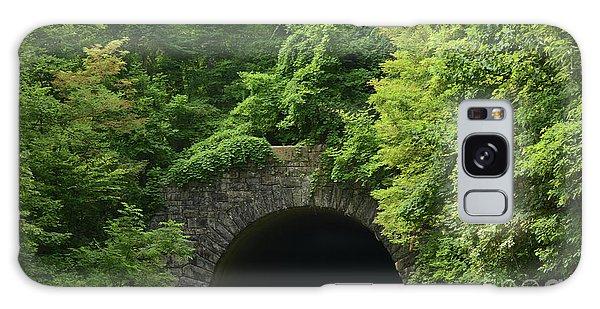 Beautiful Tunnel With Greenery, Nc Galaxy Case