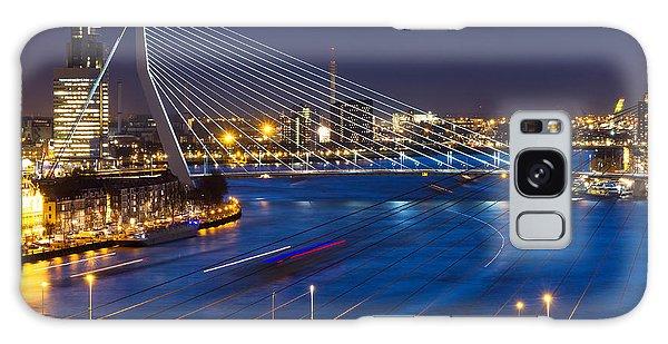 Dusk Galaxy Case - Beautiful Twilight View On The Bridges by Dennis Van De Water
