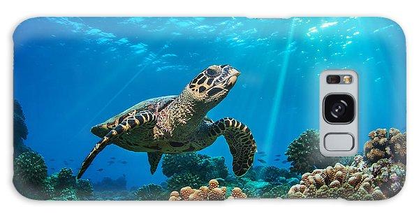 Turtle Galaxy Case - Beautiful Underwater Postcard by Willyam Bradberry