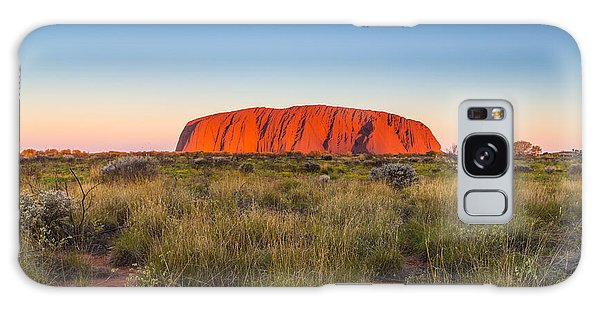 Geology Galaxy Case - Beautiful View Of Uluru, Ayers Rock by Structuresxx