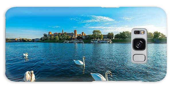 Angle Galaxy Case - Beautiful View On Vistula River With by Rosshelen