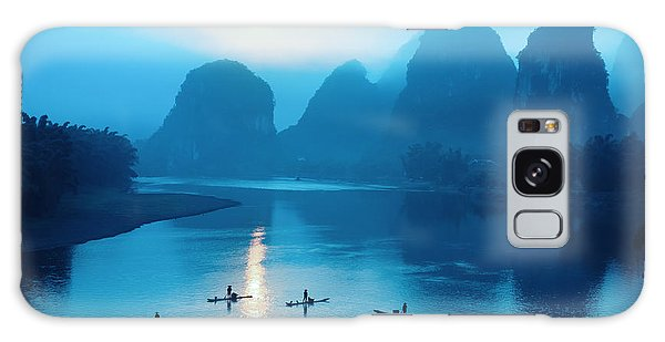 Dawn Galaxy Case - Beautiful Yangshuo Scenery In by Chuyuss