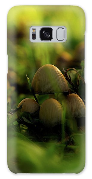 Beauty Of Fungus Galaxy Case