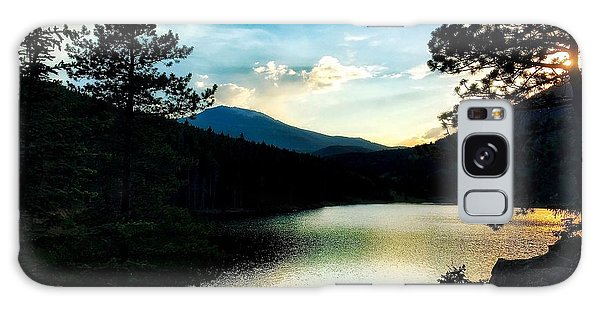 Galaxy Case featuring the photograph Beaver Brook Lake by Dan Miller