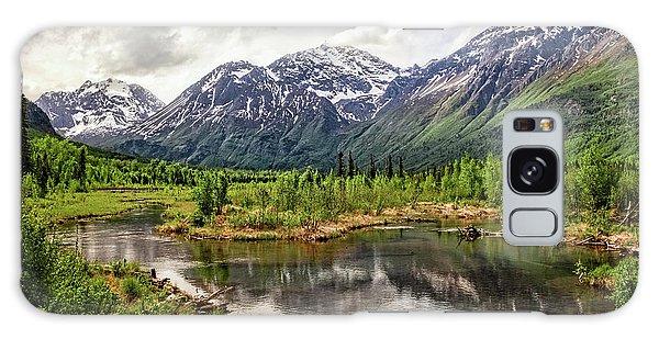 Beaver Pond, Eagle River Ak Galaxy Case