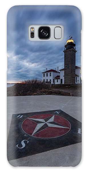 Beavertail Lighthouse Galaxy Case