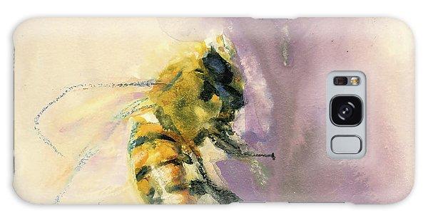 Bee On Lavender Galaxy Case