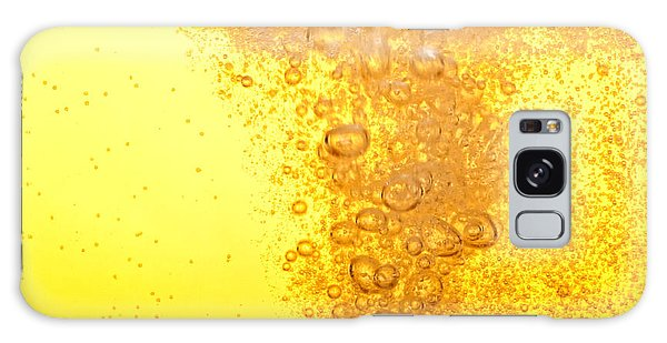 Drop Galaxy Case - Beer Bubbles In The High Magnification by Faferek