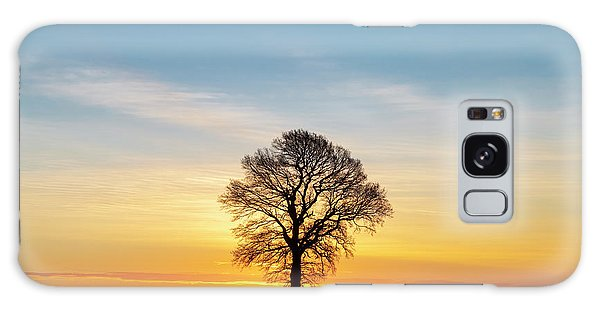 English Countryside Galaxy Case - Before Sunrise by Tim Gainey