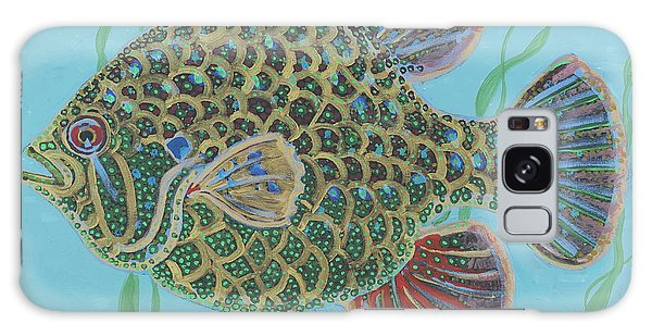Bejeweled Bluegill Galaxy Case