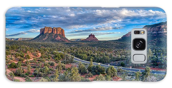 Bell Rock Scenic View Sedona Galaxy Case