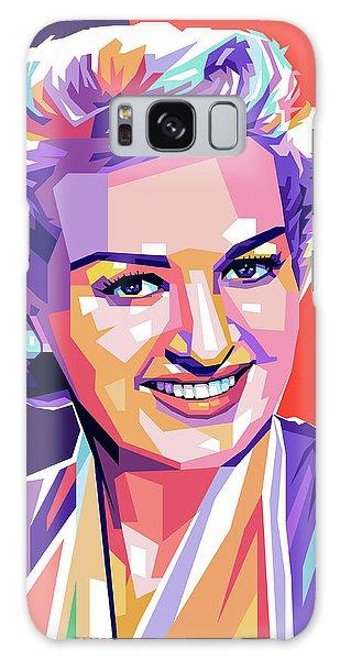 Betty Grable Pop Art Galaxy Case